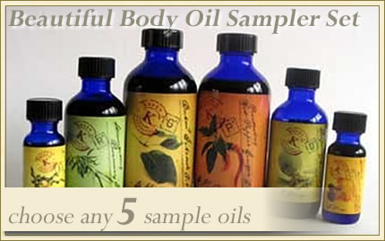 body oil samples=