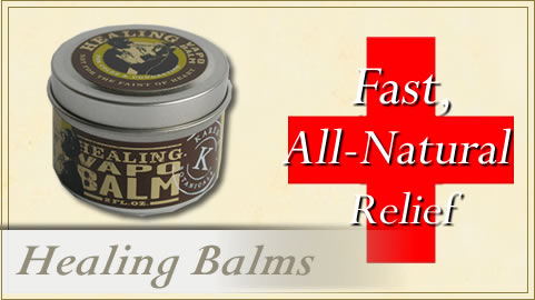 Healing Balms and Salves